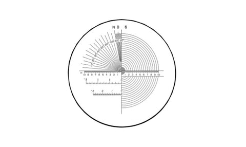 40-086-1 Pocket Comparator Reticle 7X