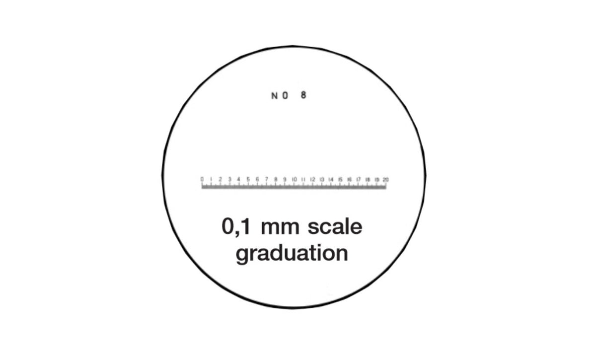 40-248-7 Pocket Comparator Reticle 10X