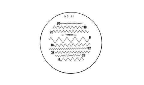 40-091-1 Pocket Comparator Reticle 7X