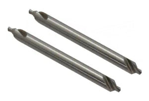"43-250-0-2 Size 2, 60° Long Center Drill 6"" - 2 Pc"