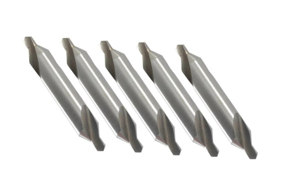 43-272-4 Size 6, 60° Center Drill 5 Pc