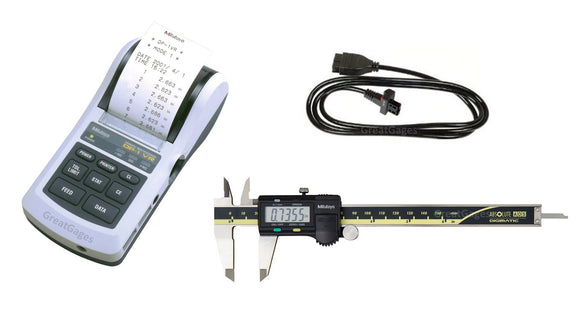 500-171-30-DP1 Mitutoyo Caliper to Portable Printer Package, 6