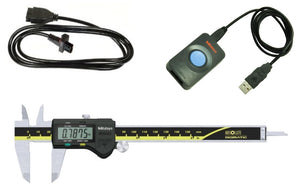 "500-171-30-IP Mitutoyo Caliper to USB Package, 6"" Range, 1m Cable"