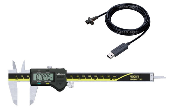 500-171-30-USB Mitutoyo Caliper to USB Direct Package, 6