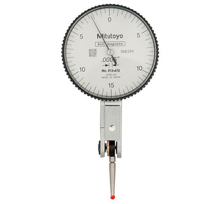"513-472-10E Mitutoyo Test Indicator with Ruby .03"" Range - .0005"" Grad"