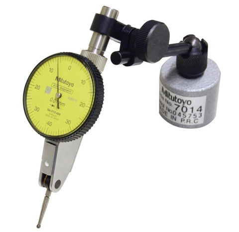 513-908 Mag Stand & Metric Test Indicator .8mm Range - .01mm Grad
