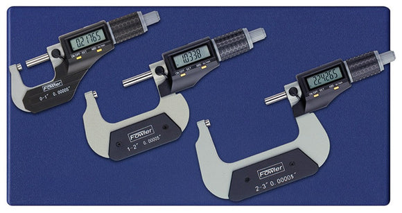 54-870-103 Fowler Electronic Micrometer Set 3