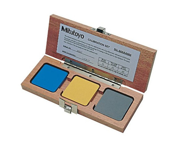 64AAA964 Mitutoyo Durometer Test Block Set