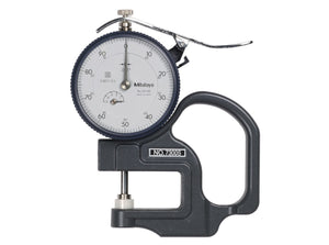 7300S Mitutoyo Dial Thickness Gage 0.5""