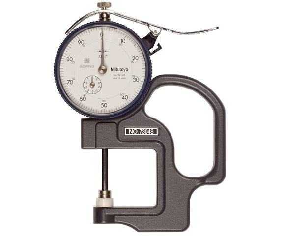 7304S-CAL Mitutoyo Dial Thickness Gage 1
