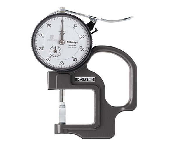 7316S Mitutoyo Dial Thickness Gage .5