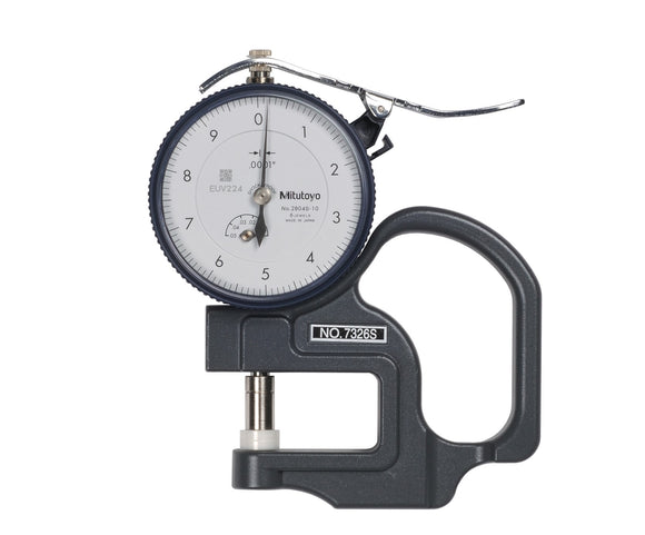 7326S Mitutoyo Dial Thickness Gage .05