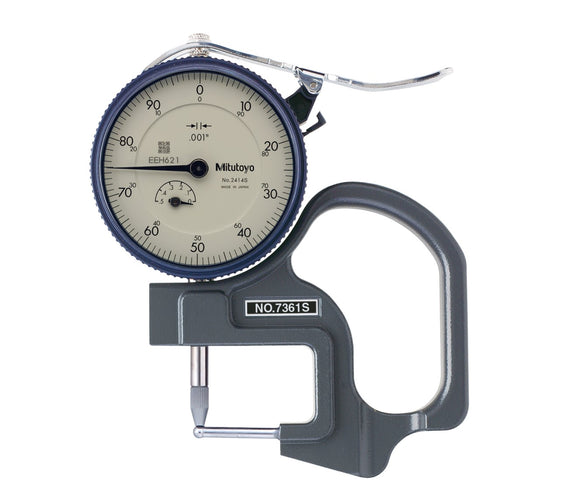 7361S Mitutoyo Dial Thickness Gage .5