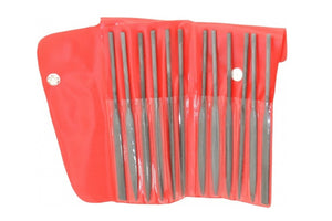 81-189-3 Needle File Assortment Set 4-Cut 6-1/4""