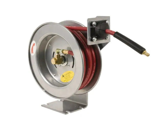 93-389-5 General-Duty Spring Retractable Air Hose Reel 1/2