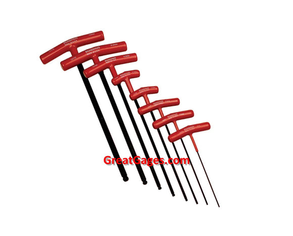 97-675-3 T-Handle Bondhus Metric Hex Tool Set