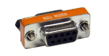 DB9-NFF-ADT Null Modem Adapter