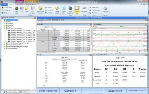 64AAB611 Mitutoyo MeasurLink SPC Gage R&R Software