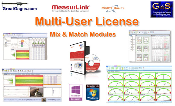 64AAB618 Mitutoyo MeasurLink 5-User License