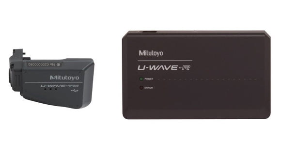 Mitutoyo U-Wave FIT Buzzer Wireless Package with Receiver for Mitutoyo Micrometer
