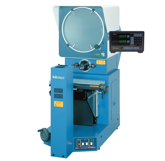PH-3515F Mitutoyo Optical Comparator, KA & Stand