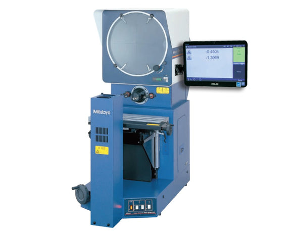 PH-3515F Mitutoyo Optical Comparator w/ M2 Geometric Display, Edge Detection & Comparator Stand