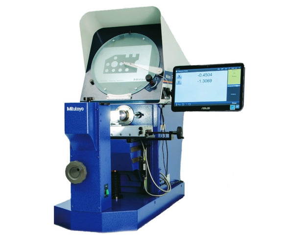 PH-A14 Mitutoyo Optical Comparator M2 Display, Edge Detection & Stand Package