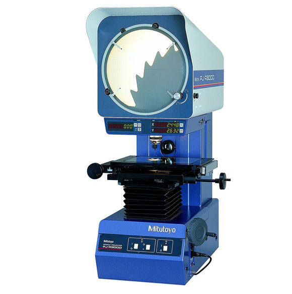 302-701A Mitutoyo Vertical Optical Comparator 8