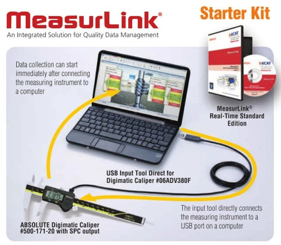 Mitutoyo MeasurLink SPC Software Starter Kit