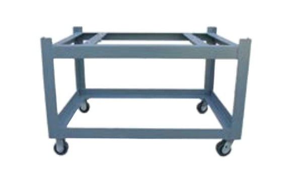 36x36 Surface Plate Castered Stand