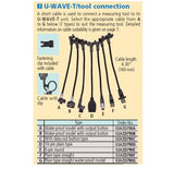 Mitutoyo U-Wave Wireless Transmitter Cable 790F