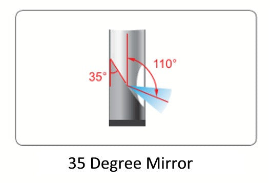 ISV-E55-M35 Endoscope 35 Degree Mirror