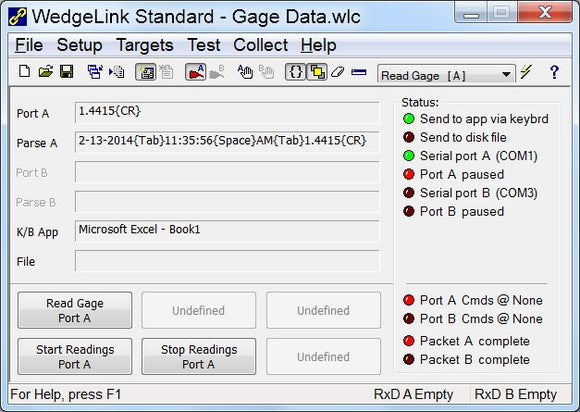 WedgeLink Standard Software