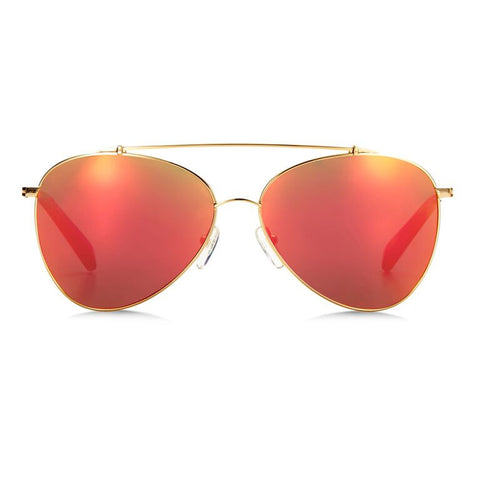 Airlie / Gold Red Mirror {{product_type}} - Bailey Nelson London