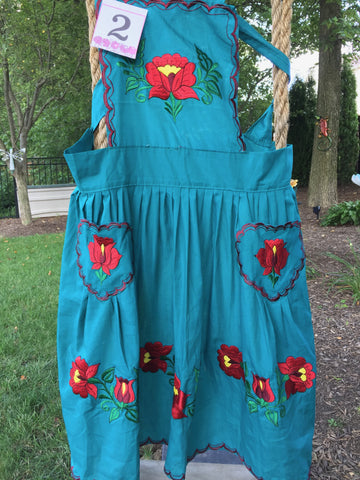 Mexican Apron-Betty #2