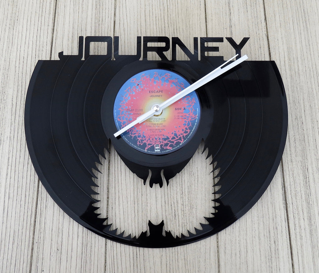 journey record clock