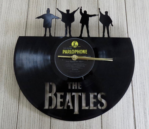 beatles 'help' record clock