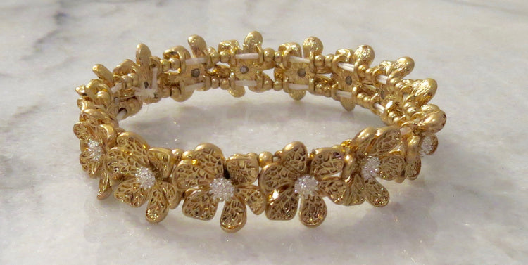 daisy stretch bracelet