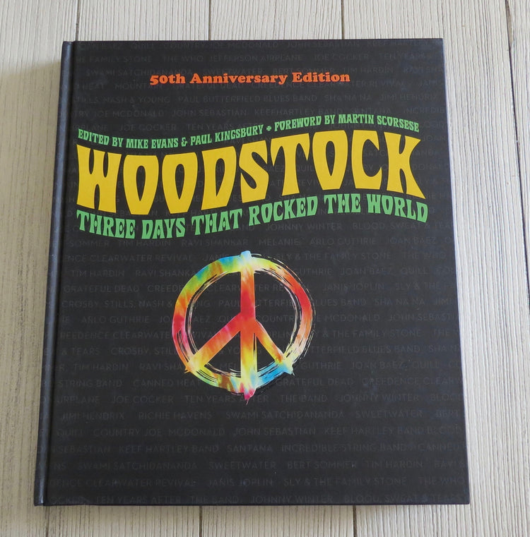 woodstock 50th edition book