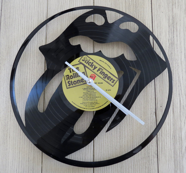 rolling stones record clock