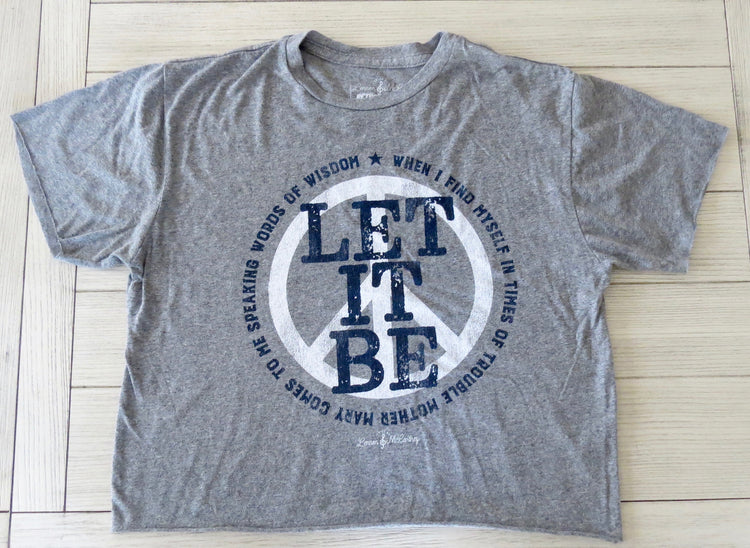 the beatles let it be shirt