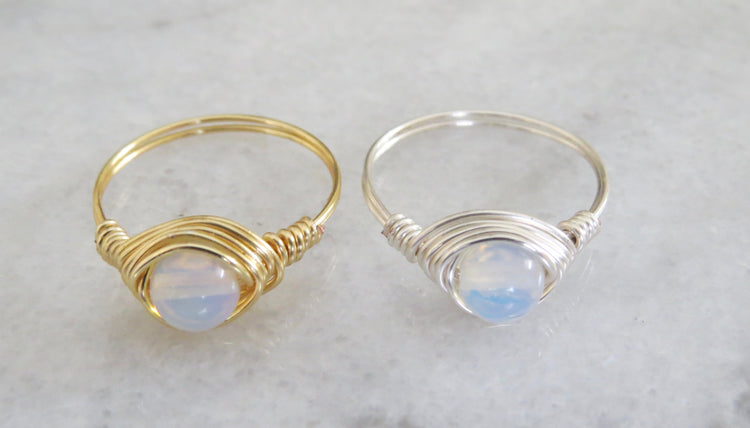 opalite ring