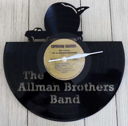 allman brothers record clock