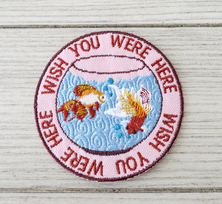 pink floyd fishbowl patch