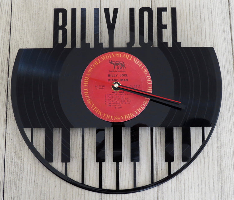 billy joel record clock