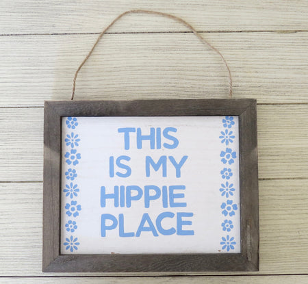 hippie place wall hanging