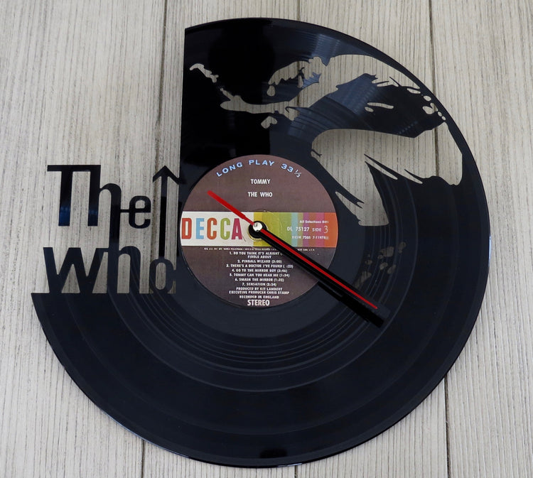 the who record clock
