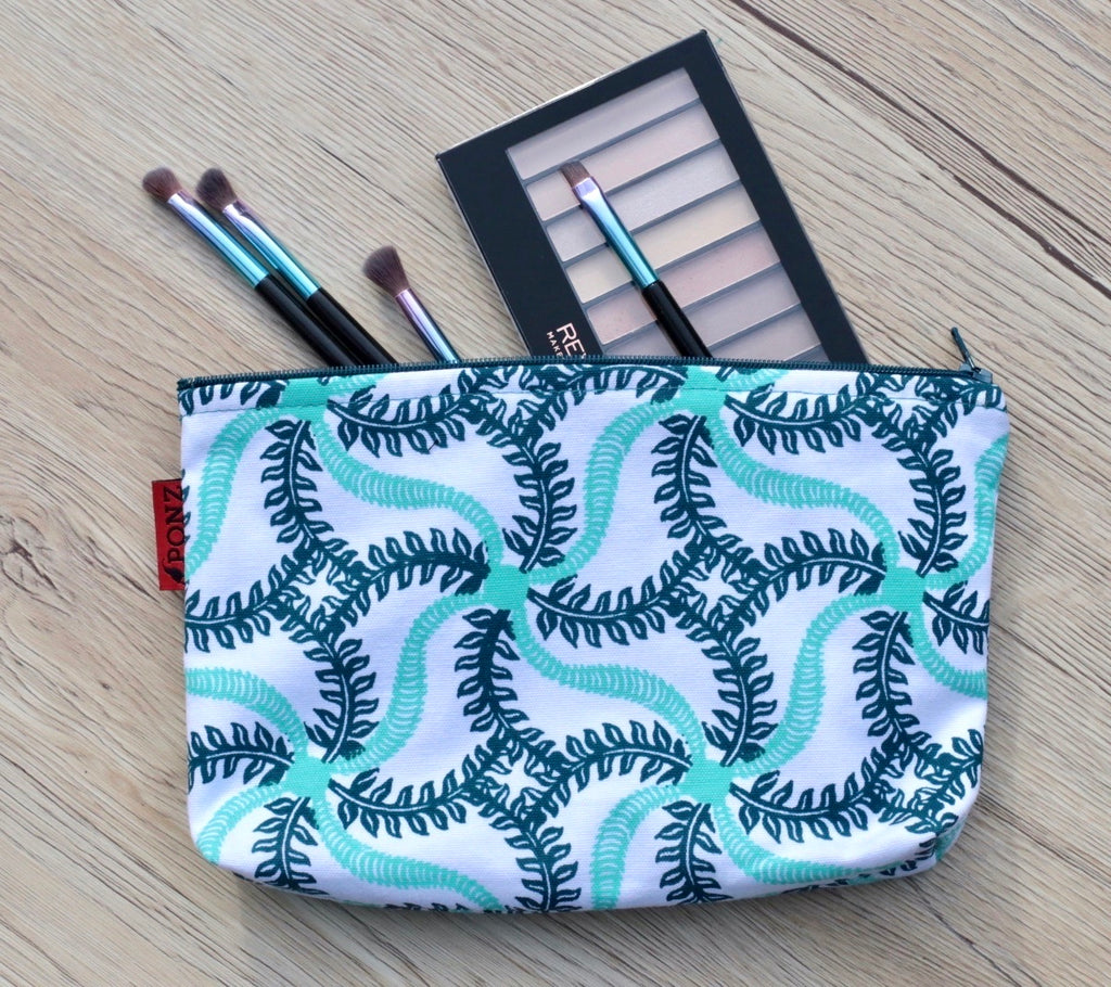 Pouch Bag - 'Sea World' print