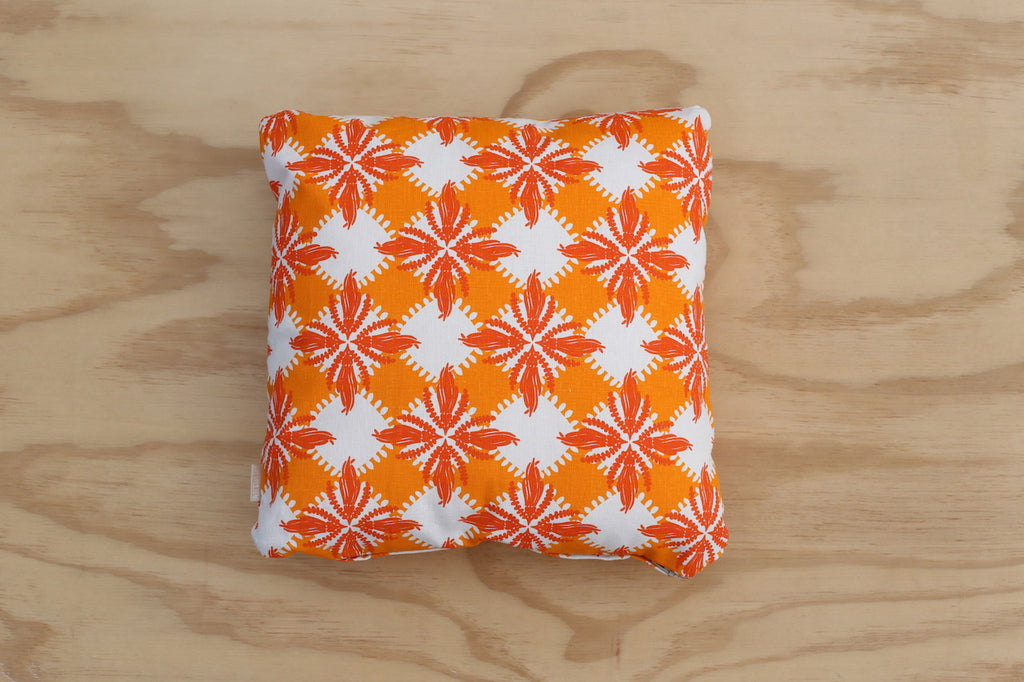Pacifica print in Orange 40cm Cushion