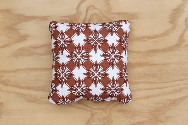 Pacifica print in Brown 40cm Cushion